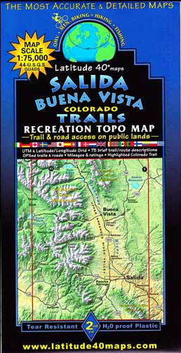 Taylor Park Colorado Map.Ark Valley Taylor Park Loop
