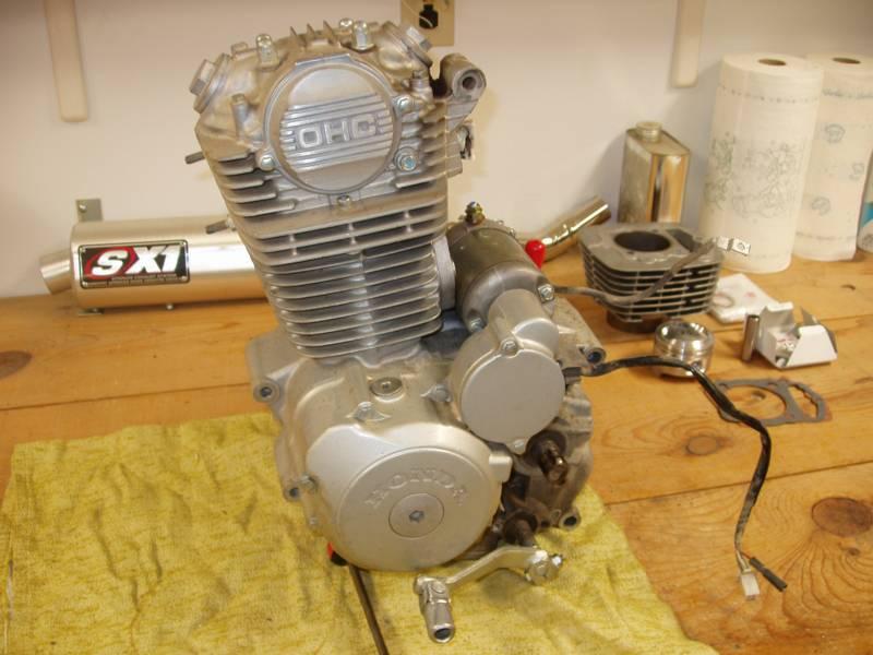 двигатель honda crf 230