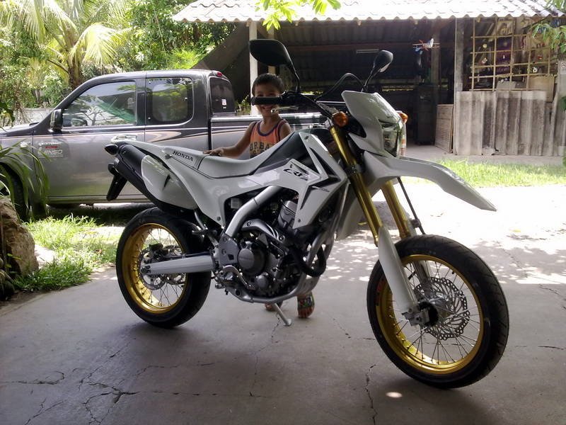 Crf250l Introduction