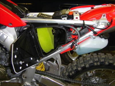 CRF250X Sold with these modifications